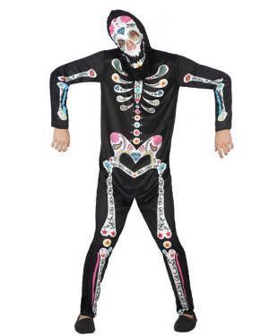 Fato de Esqueleto Homem Disfarces A Casa do Carnaval.pt