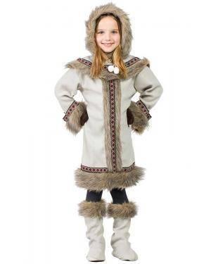 Fato de Esquimó Menina
