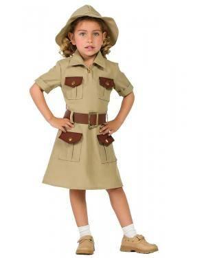 Fato de Exploradora Infantil