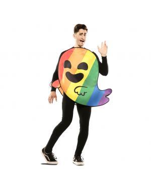 Fato de Fantasma Arco-Íris para Carnaval