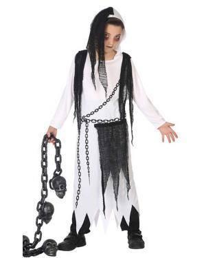 Fato de Fantasma Infantil Disfarces A Casa do Carnaval.pt