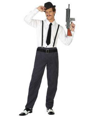 Fato de Gangster Homem para Carnaval o Halloween | A Casa do Carnaval.pt