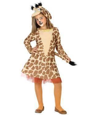 Fato de Girafa 3 a 4 Infantil Disfarces A Casa do Carnaval.pt