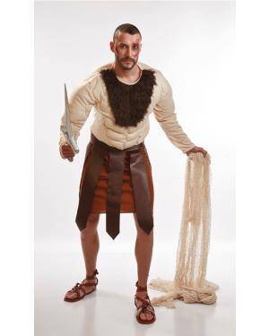 Fato de Gladiador Adulto M/L Disfarces A Casa do Carnaval.pt