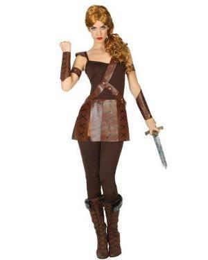 Fato de Gladiadora Adulta para Carnaval o Halloween | A Casa do Carnaval.pt