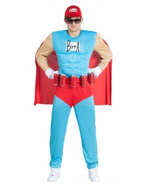 Fato de Herói Musculado para Carnaval