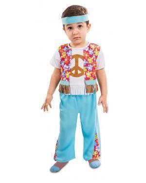 Fato de Hippie Bebé para Carnaval