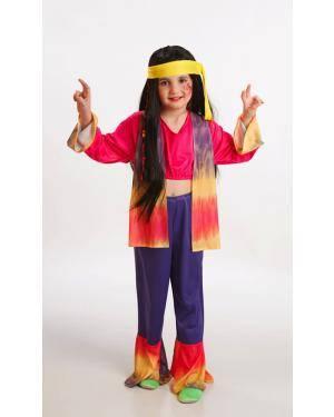 Fato de Hippie Menina Disfarces A Casa do Carnaval.pt