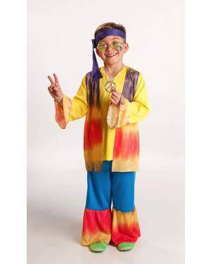 Fato de Hippie Menino Disfarces A Casa do Carnaval.pt