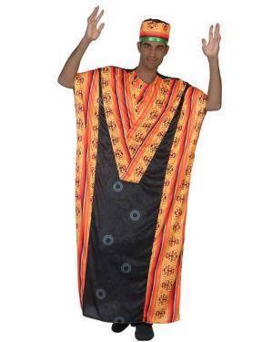 Fato de Homem Africano Disfarces A Casa do Carnaval.pt