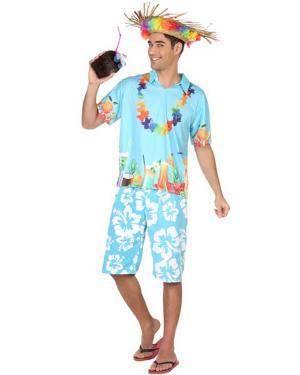 Fato de Homem Hawaiano Disfarces A Casa do Carnaval.pt