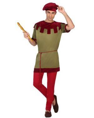 Fato de Homem Medieval M-L Disfarces A Casa do Carnaval.pt