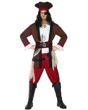 Fato de Homem Pirata Disfarces A Casa do Carnaval.pt