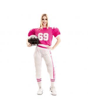Fato de Jogadora de Futebol Americano para Carnaval