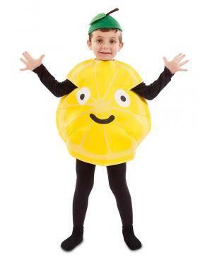 Fato de Limão Infantil para Carnaval