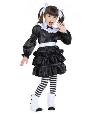 Fato de Lolita Gótica para Carnaval