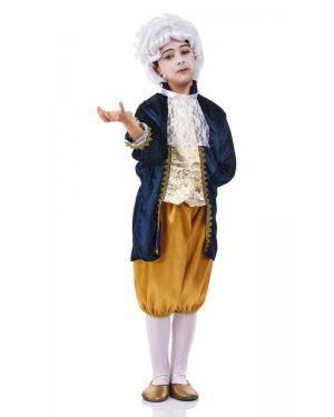 Fato de Luís XV Infantil para Carnaval o Halloween | A Casa do Carnaval.pt