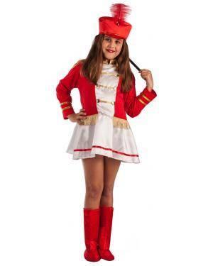Fato de Majorette Infantil para Carnaval