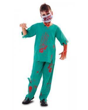 Fato de Médico Zombie Menino Disfarces A Casa do Carnaval.pt