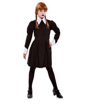 Fato de Menina Sinistra Infantil para Carnaval