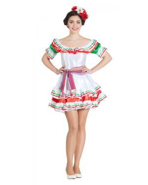 Fato de Mexicana Saia Curta para Carnaval