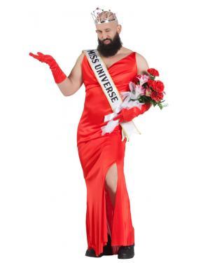 Fato de Miss Universo Homem para Carnaval