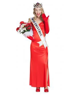 Fato de Miss Universo Mulher para Carnaval
