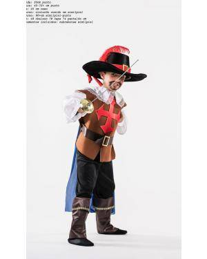 Fato de Mosqueteiro Infantil Disfarces A Casa do Carnaval.pt