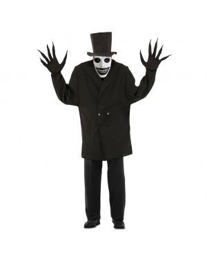 Fato de Mr. Shadow para Adulto para Carnaval