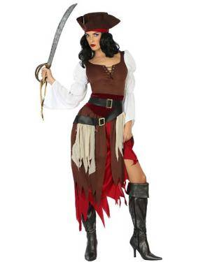Fato de Mulher Pirata Disfarces A Casa do Carnaval.pt