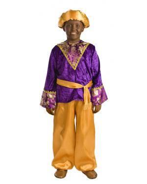 Fato de Pajem Baltasar Infantil para Carnaval
