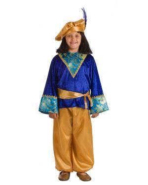 Fato de Pajem Belchior Infantil para Carnaval