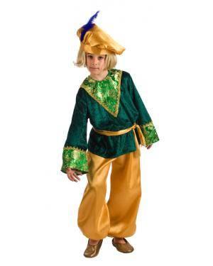 Fato de Pajem Gaspar Infantil para Carnaval