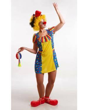 Fato de Palhaça Adulta M Disfarces A Casa do Carnaval.pt