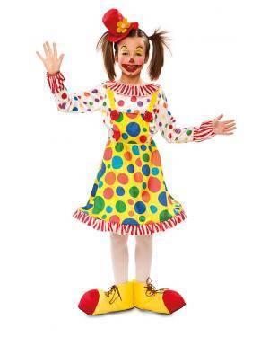 Fato de Palhaça Infantil para Carnaval