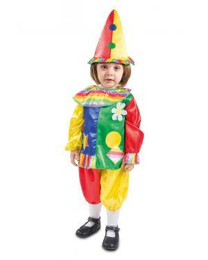 Fato de Palhacinha Bebé para Carnaval
