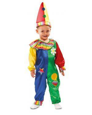 Fato de Palhacinho Bebé para Carnaval