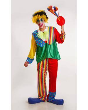 Fato de Palhaço Homem Adulto M/L Disfarces A Casa do Carnaval.pt