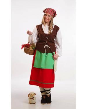 Fato de Pastora Adulta M para Carnaval o Halloween | A Casa do Carnaval.pt