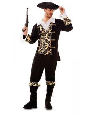 Fato de Pirata Dourado Adulto Disfarces A Casa do Carnaval.pt