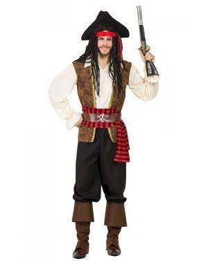 Fato de Pirata Homem