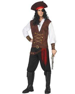 Fato de Pirata Homem Disfarces A Casa do Carnaval.pt