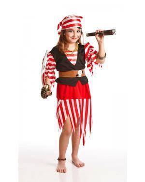Fato de Pirata Menina Disfarces A Casa do Carnaval.pt