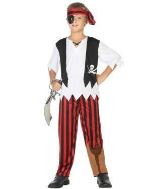 Fato de Pirata Menino Disfarces A Casa do Carnaval.pt