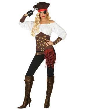 Fato de Pirata Mulher Disfarces A Casa do Carnaval.pt