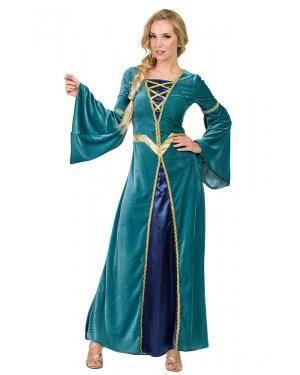 Fato de Princesa Medieval Adulto