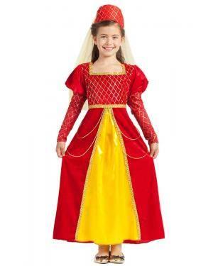 Fato de Princesa Medieval Menina