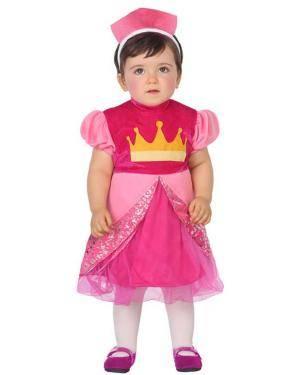 Fato de Princesa Rosa Bebé Disfarces A Casa do Carnaval.pt