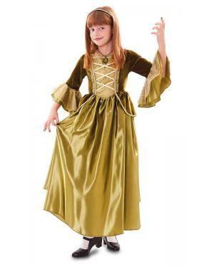 Fato de Princesa Verde Menina para Carnaval o Halloween | A Casa do Carnaval.pt