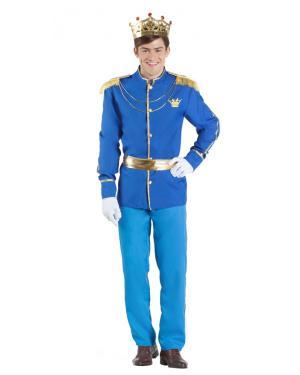 Fato de Principe Azul para Carnaval